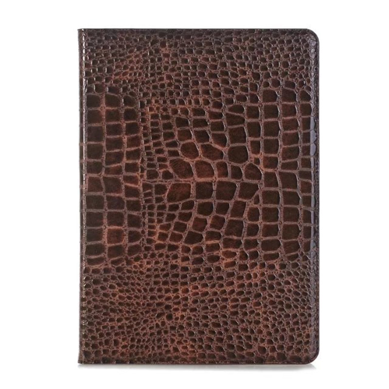 Hot selling new arriving Stand with wallet Crocodile Pattern PU Leatehr smart case for Apple iPad Pro 12.9 Inch for ipad pro 9 7 retro crocodile stand wallet smart leather cover dark blue
