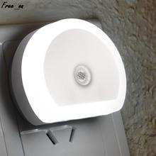 Светодиодный ночной светильник с двойным USB-разъемом для настенного зарядного устройства