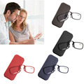 4Color TR90 Mini Portable Clip Nose Reading Glasses Eyeglasses With Glasses Case +1.00/ +1.50/ +2.00/ +2.50/ +3.00/ +3.50