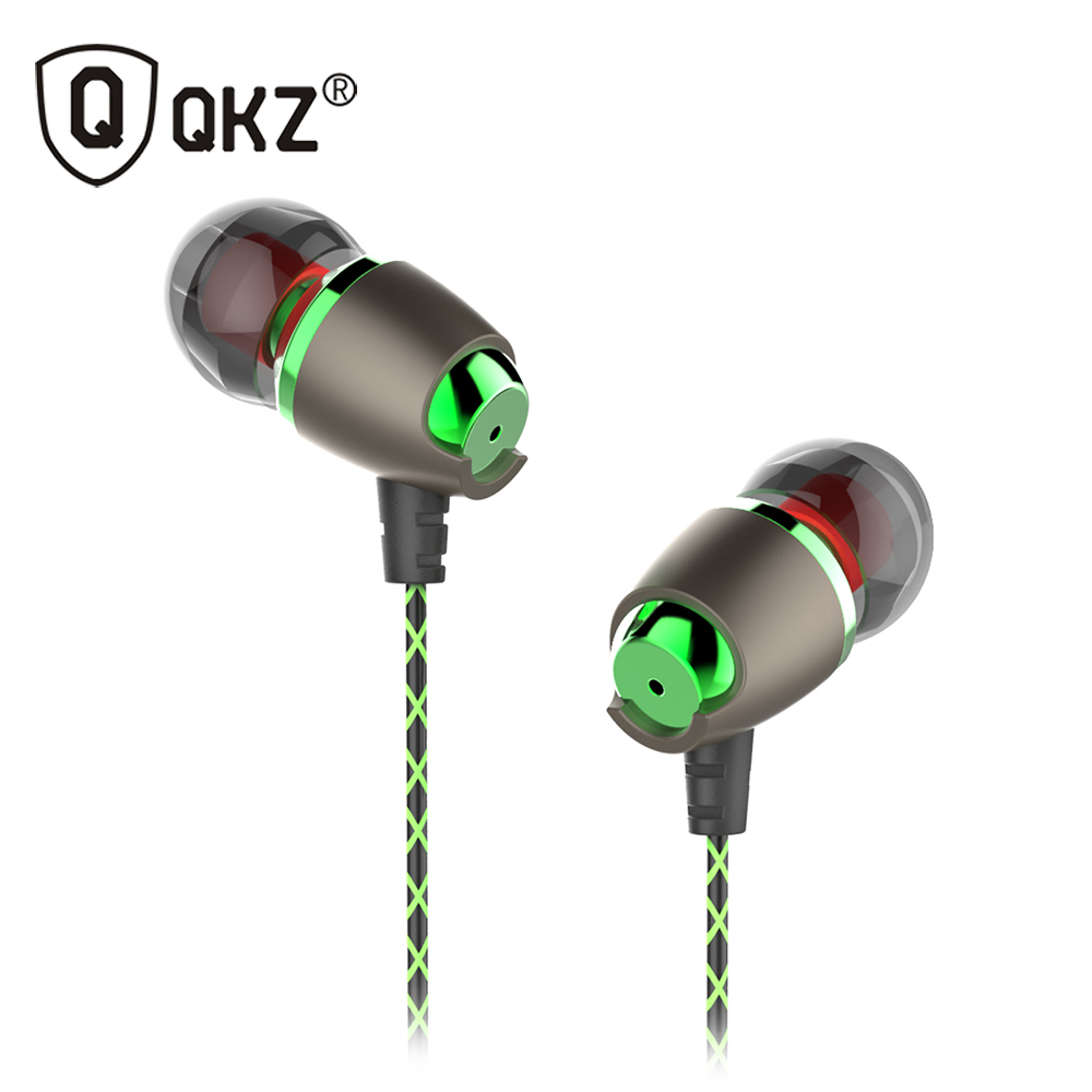 Earphone Magnetic in-Ear Earphone Noise Cancelling Headsets DJ QKZ DM11 In Ear Earphones HiFi Ear Phone Stereo BASS Metal star pattern stereo in ear earphone black 3 5mm plug 116cm