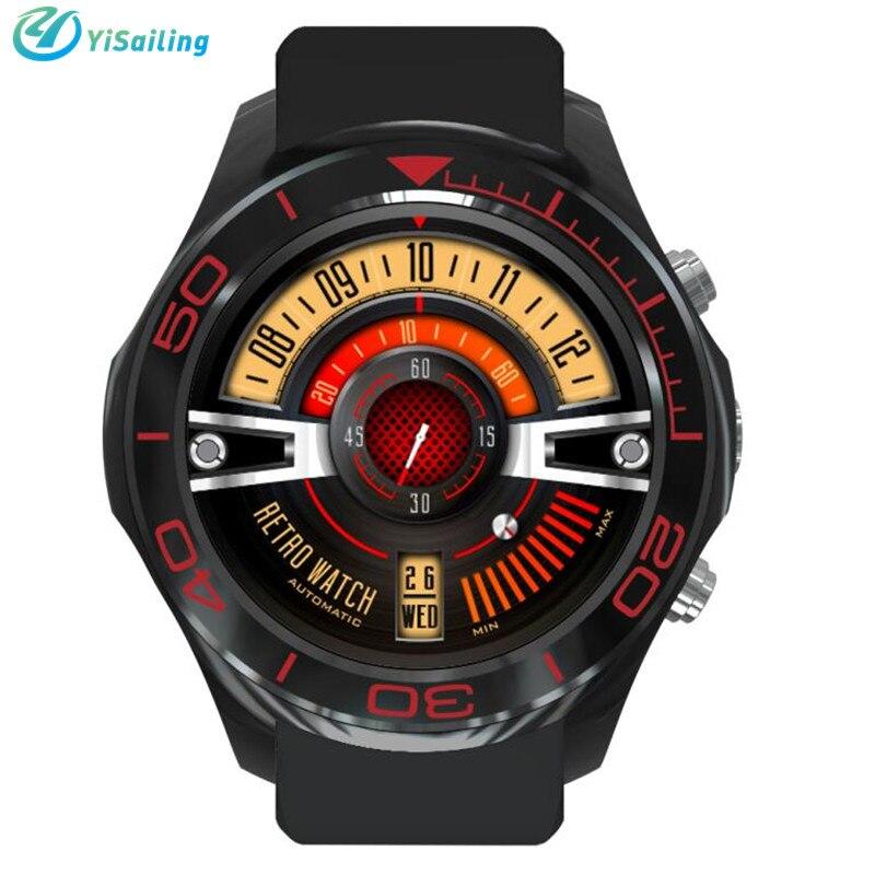imágenes para 2017 Nuevo S11 Inteligente Reloj Redondo de 1.3 pulgadas de Pantalla Android 5.1 2.0mp cámara MTK6572 4 GB GPS WIFI Bluetooth Smartwatch Para IOS Android