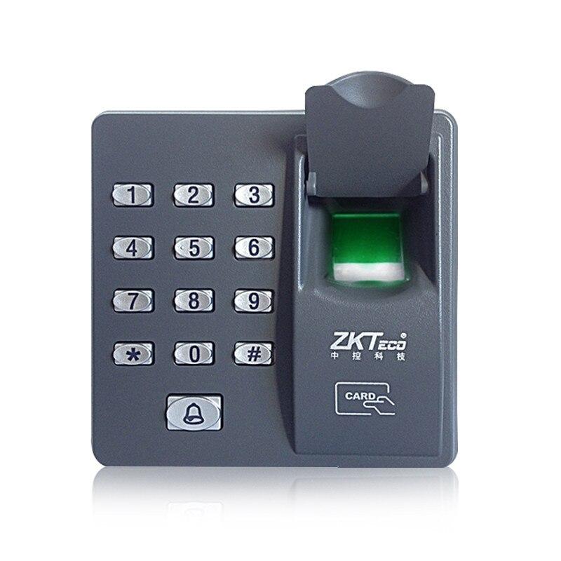 X6 Biometric Fingerprint Access Control System+Electronic Electric Door Lock+DC 12V 3A Power Supply+Door Exit+10 RFID Keyfobs