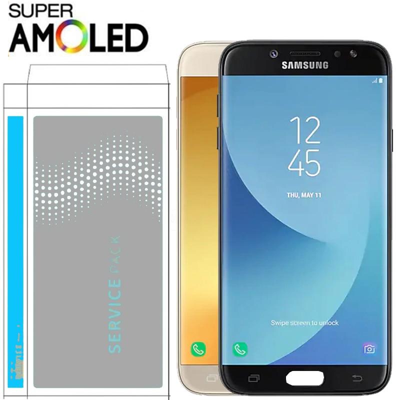 HTB1b3UDbBWD3KVjSZKPq6yp7FXaG ORIGINAL SUPER AMOLED Real 5.2'' Display for SAMSUNG Galaxy J5 PRO 2017 J530 J530F LCD Touch Screen Digitizer Assembly