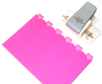 New Arrival Fancy Border Punch Fish Design Scrapbooking Embossing Punch For DIY Handmade Crafts 8726 1