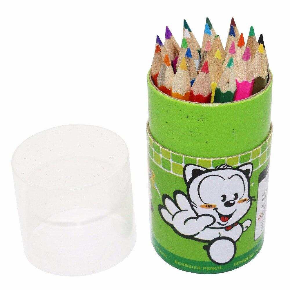 24 Pcs Colored Pencils 24 Colors Secret Garden Dedicated Color Of Lead Graffiti Pen Student