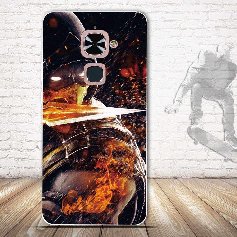 3D kabartma yumuşak Tpu kılıfı için Letv Le 2 Pro kılıf Le2 X620 Le eko Le 2 X527 cep telefonu kılıfı için letv Le S3 X622 koruyucu kapak
