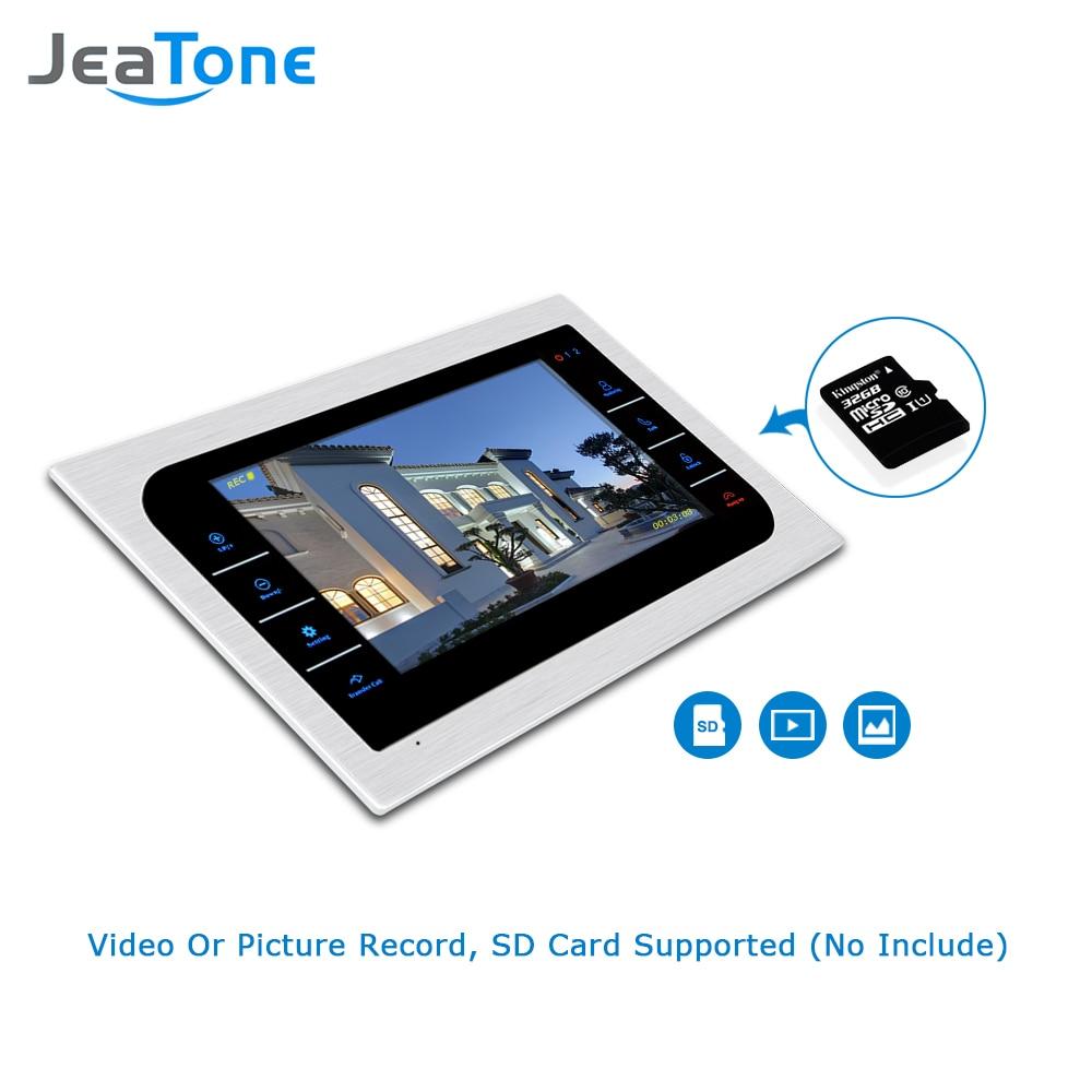 Видеодомофон JeaTone для домашней - Безопасность и защита - Фотография 3