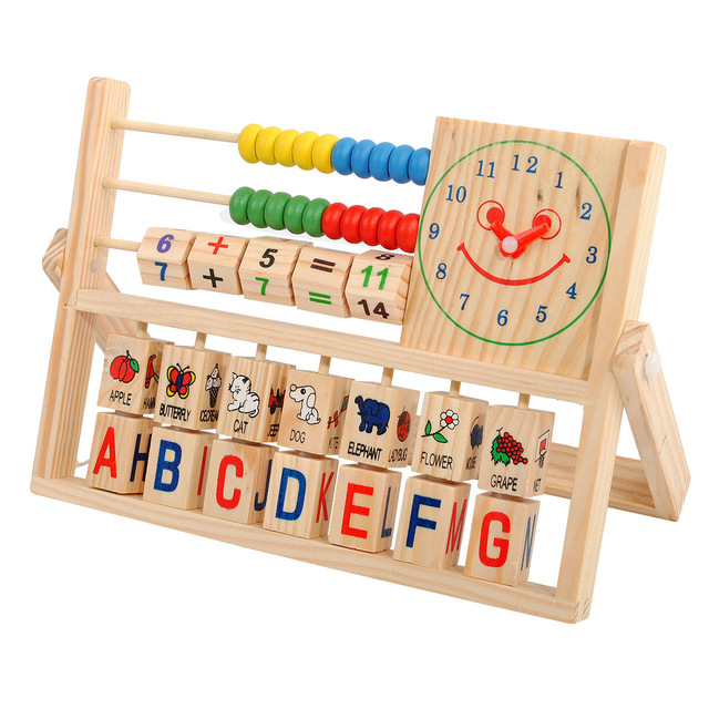 Free Shipping Educational Intellectual Toys Wooden Maths