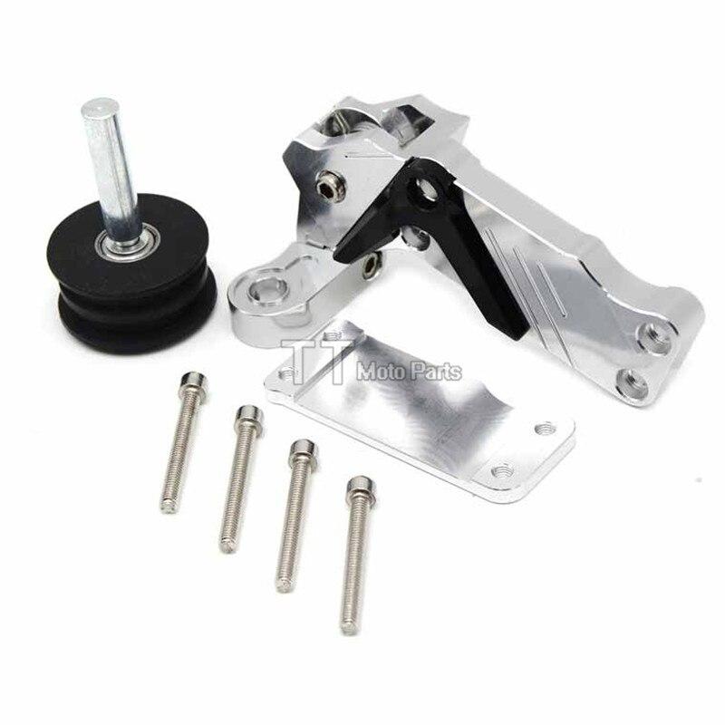 CNC Aluminum Axle Blocks Chain Adjusters Tensioners Catena For Yamaha MT-09 FZ-09 FJ-09 MT FZ FJ 09 2013 2014 2015 2016