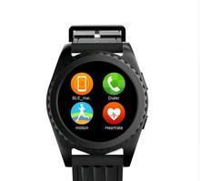 Neue Smart uhr GS3 Smartwatch pulsmesser relogio Uhr Fitness Tracker Intelligente elektronik smart wacht für IOS android