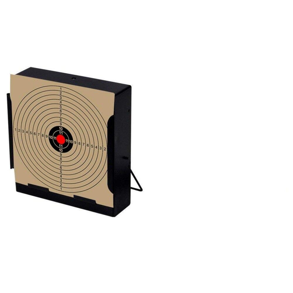 """100 Paper Targets 5.5/"""" Square Target Holder Pellet Trap"""
