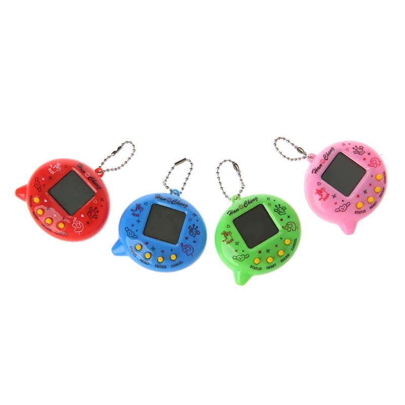 Videospielkonsolen Unterhaltungselektronik Selbstlos Neue Nette Wechat Form Lcd Virtuelle Digital Pet Elektronische Spiel Maschine Mit Keychain