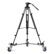 Weifeng WF-9912 Three Pedestal Pulley Roller Tripod Legs Camera Photography Casters wheel slide bearing