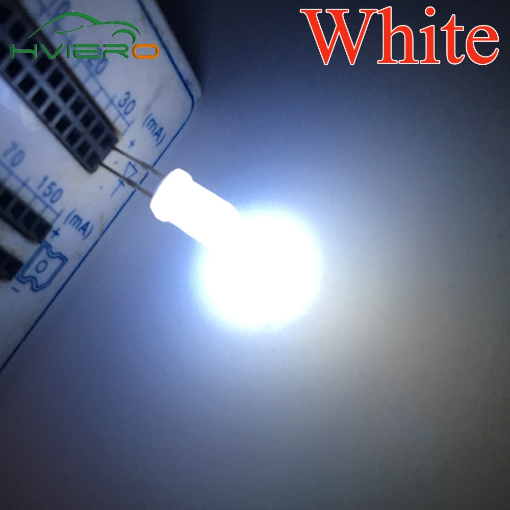 5colors X 20pcs Straw Hat 5mm Transparent F5 Led Lamp Combination Diode Kit Red Green Blue Yellow White Assortment Kit 100pcs Shrink-Proof