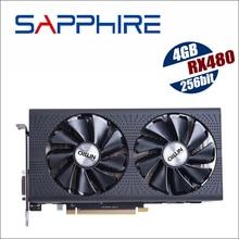 Видеокарта SAPPHIRE Radeon RX 480 4G 4GB RX480 256bit GDDR5 PCI Express 3,0 для настольных игр
