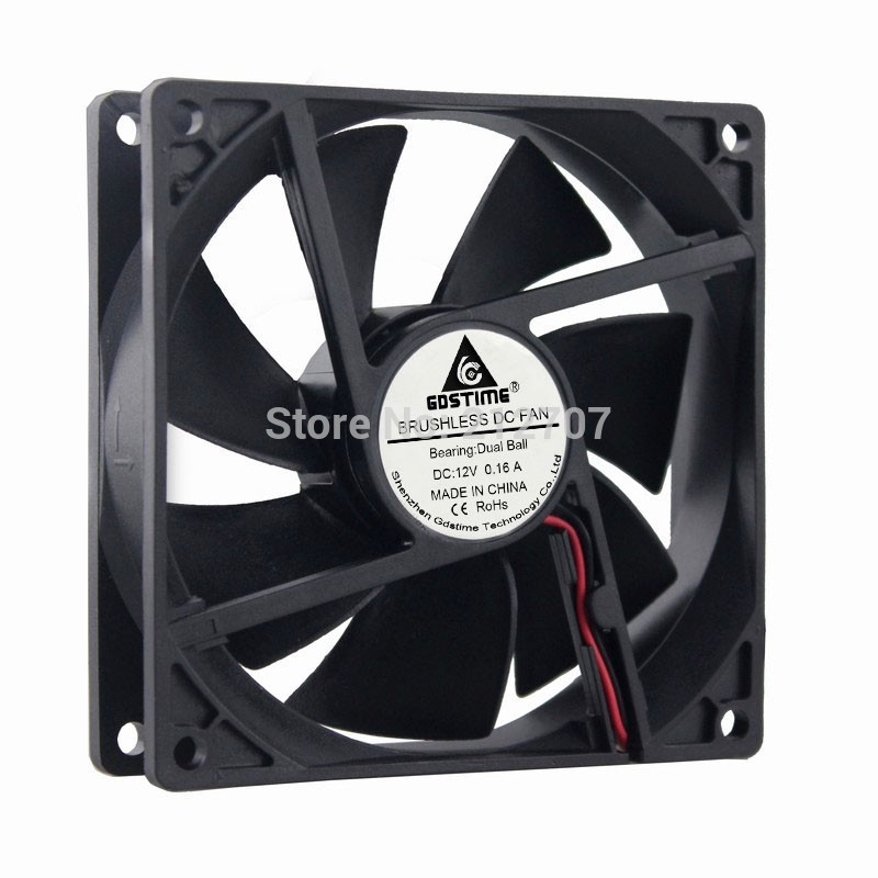 REFIT New Computer case 9 cm 9025 cm Cooling Fan 5 v 12 v and 24 v Ball