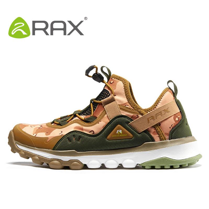 Rax 2017 spring summer hiking shoes mens women outdoor sports sneakers man breathable antiskid trekking shoes size 36-44 HS17