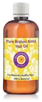 FRee Shipping Pure Brahmi Amla Hair Oil 100% Natural With Real Brahmi & Amla 50ML недорого