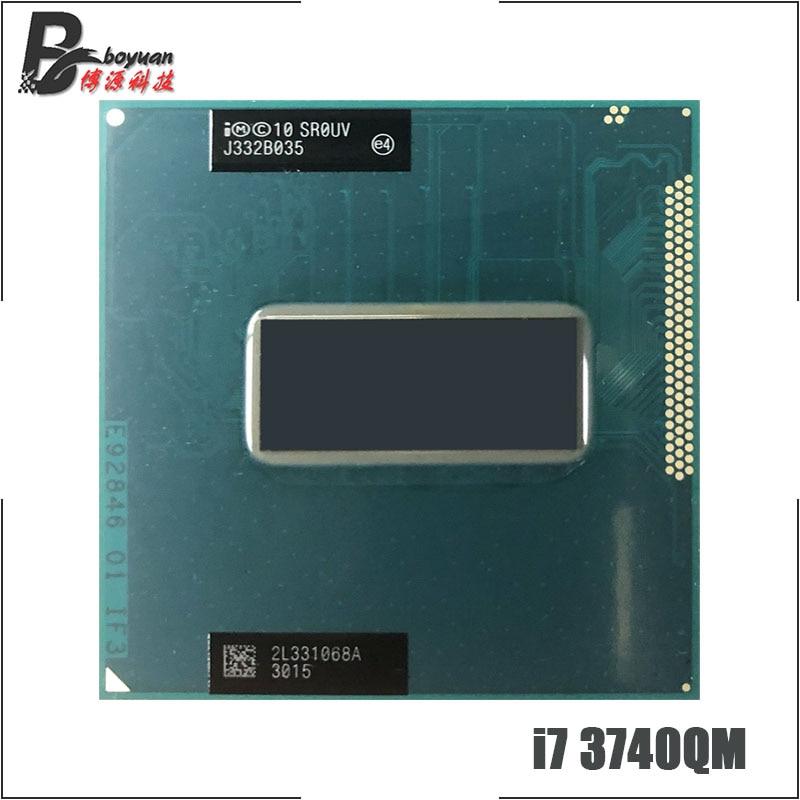 Intel Core i7 3740QM i7 3740QM SR0UV 2 7 GHz Quad Core Eight Thread CPU Processor