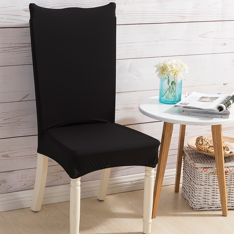 Monily одноцветное Цвет спандекс стул протектор покрывает домашний Кухня анти-грязный съемный растянуть декора Дело сиденья 30