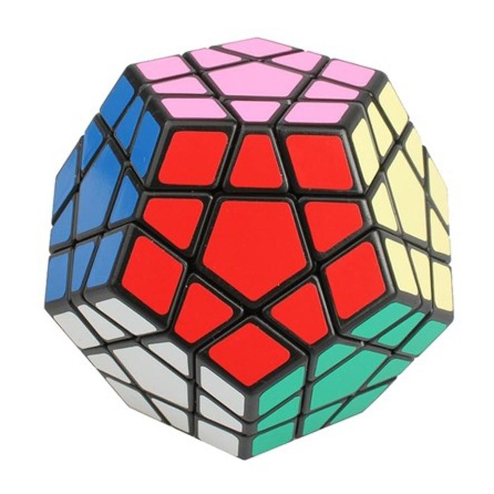 Cubos Mágicos megaminx black magic cube torção Atenção : Choking Hazard-small Parts Not For Children Under 3 Years