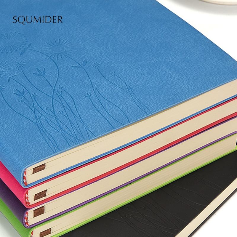 Capa macia notebook moda simples forrado diário diário planejador bloco de notas simples em branco a5 diário livro de negócios bloco de notas