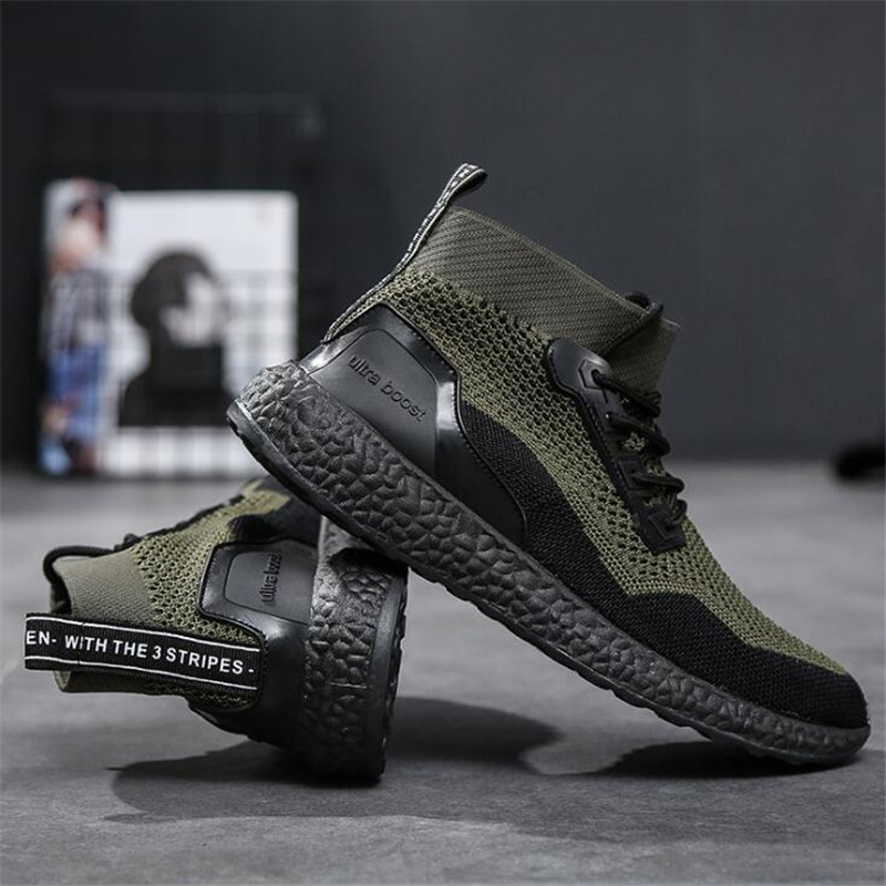 Diweini 2019 Summer Men Socks Sneakers Beathable Mesh Male Casual Shoes Lace Up Sock Shoes Loafers Boys Super Light Sock Trainer Aliexpress