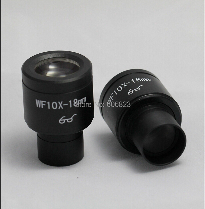 ФОТО PAIR OF WIDEFIELD WF10X EYEPIECES FOR MICROSCOPE 23.2mm High Eye-point
