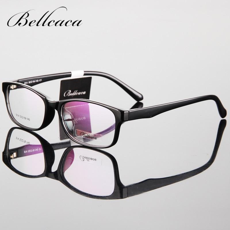 Bellcaca النظارات الإطار الرجال النساء الكمبيوتر النظارات البصرية النظارات الطبية tr90 النظارات إطار واضح عدسة للذكور BC085