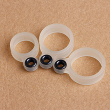 22Pcs Silicone Fishing Rod Wire Ring Fishing Line Guide Ring Different Size 1-22