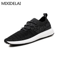 2017 New Spring Summer Men S Casual Shoes Flat Shoes Chaussure Homme Korean Breathable Air Mesh