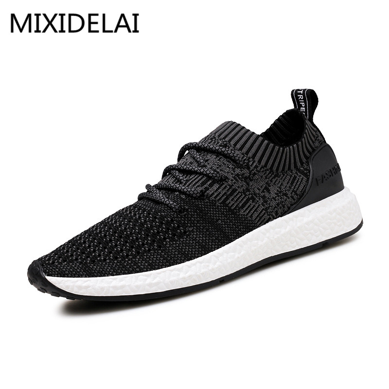 2017 New Spring Summer Men's Casual Shoes Cheap chaussure homme Korean Breathable Air Mesh Men Shoes Zapatos Hombre Size 39-46 spring ultra light mens shoes men casual leather mans footwear zapatos hombre presto lace up breathable air chaussure homme 95