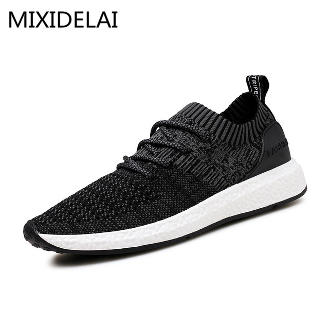 2017 New Spring Summer Men's Casual Shoes Cheap chaussure homme Korean  Breathable Air Mesh Men Shoes