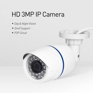 Image 2 - H.265 Waterproof 3MP Bullet IP Camera 1296P / 1080P LED IR Outdoor Security Night Vision CCTV System Video Surveillance HD Cam