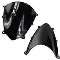 For Honda CBR600RR CBR 600 RR 2007 2008 Black Motorcycle Windshield WindScreen Drop Shipping