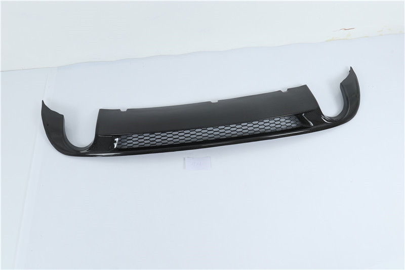 carbon fiber Car <font><b>Rear</b></font> Bumper Lip Auto Car <font><b>Diffuser</b></font> For 09-11 <font><b>Audi</b></font> A6 <font><b>S6</b></font> 2009 2010 2011 image