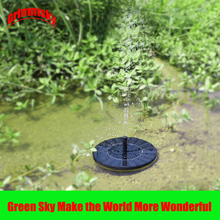 Max. 180L/H Floating Pool Pond Outdoor Solar Panel Home Garden Decoration Powered Fountain