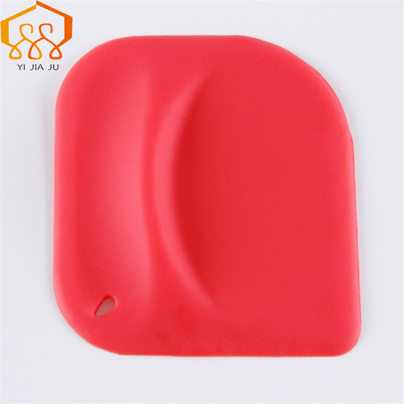 Baking Tools For Cakes Silicone Spatula Bakeware Plastic Scraper Blade Butter Cake Wipe font b Shaving