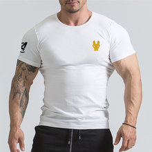 Avengers 3 Iron Man T Shirt Casual Printed T-shirts Men Gyms BodyBuilding Workout Tee Cotton Fitness Clothing Male Crossfit Tops