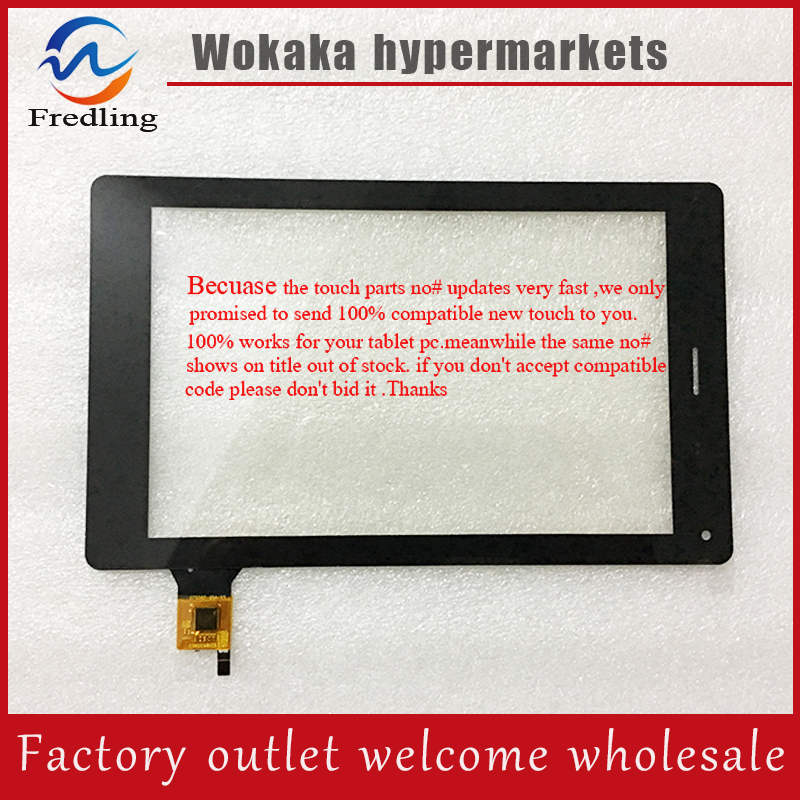 New 7inch for teXet TM-7055HD touch Screen Digitizer 070367-01A-V1 CTP070367-01 Touch Panel Glass LCD Sensor Replacement 7 inch touch screen digitizer glass sensor panel for texet eplutus g27 free shipping