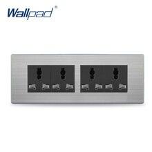 12 Pin Universal Socket 2019 Hot Sale China Manufacturer Wallpad Push Button Luxury Wall Light Switch Outlet