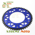Blue 50T CNC Rear Chain Sprocket For Yamaha WR250F YZ250F 250L WR400F 426F 450F  Motorcycle Motocross Enduro Dirt Bike Off Road