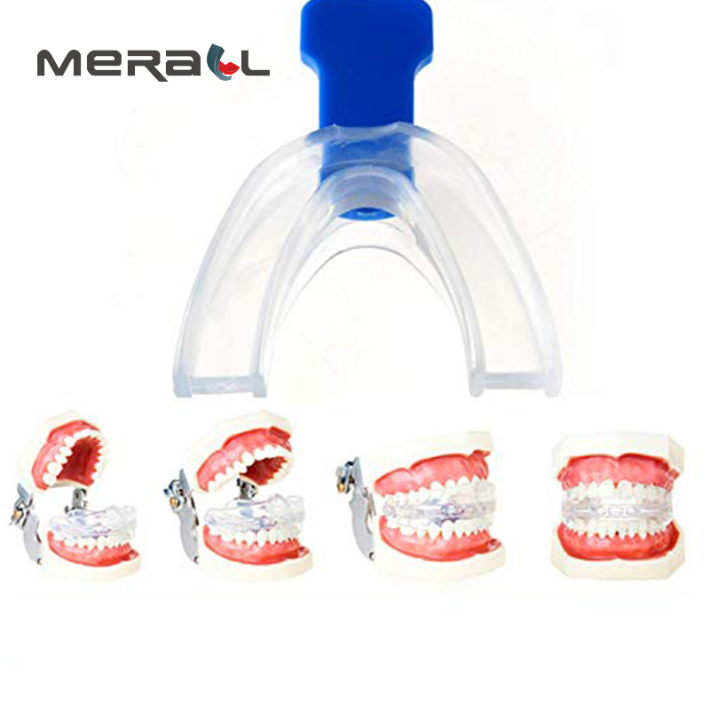 Anti Snoring Bruxismo Mouth Guard Stopper Mouthpiece Silicone Sleep Aid Healthy Gifts For Women Men Noise Reduction Blue Device