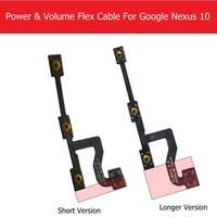 Original Switch On Off Power Volume Flex Cable For Samsung Google Nexus 10 P8110 GT P8110