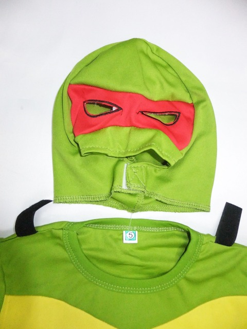 Halloween Teenage Mutant Ningja Turtles Costume 3-7Y