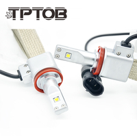 TPTOB ZES Car Headlight Bulbs H4 LED 9003 HB2 H4 H11 H8 9005 HB3 9006 HB4 H7 LED Super Bright Spot Auto light Headlamp White