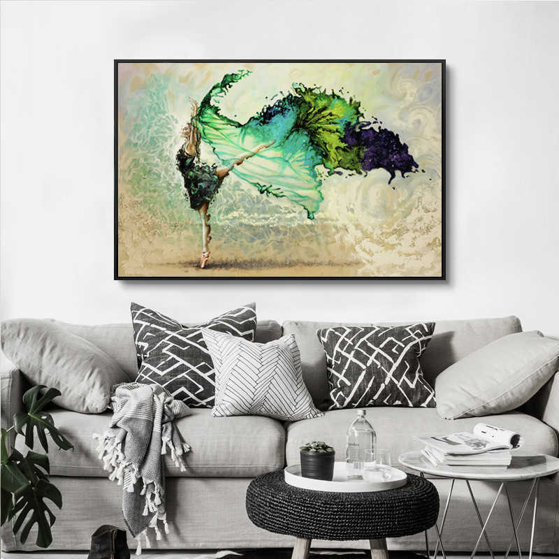 Triptych Pop Art Painting Canvas Abstract Figure Paintings Watercolor Sexy Lovers Wall Picture For Bedroom Wall Decor