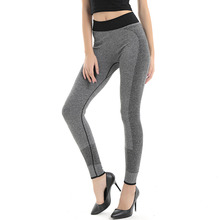 Women Sexy Yoga Sport Pants Tights Wicking Female Sport Elastic Fitness Running Trousers Gym Slim Leggings ropa deportiva Capris