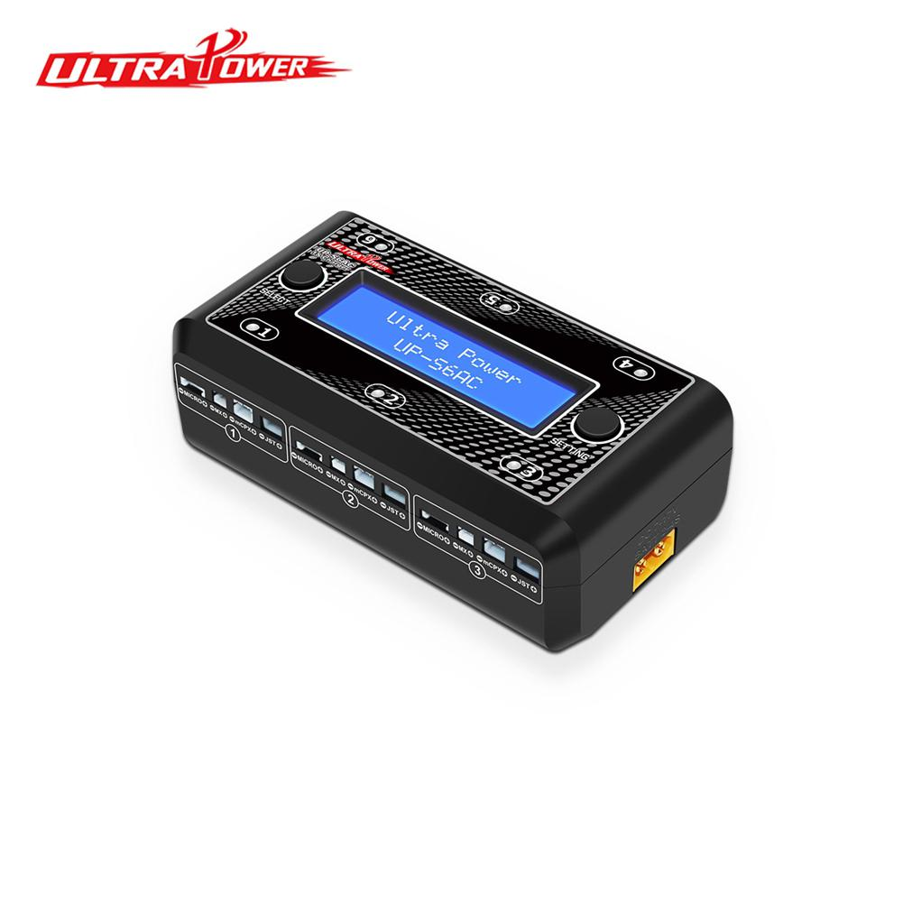 Ultra High Power UP-S6AC 1S AC / DC LiPO / LiHV Battery Charger Micro MX MCPX JST Remote Control Toy Battery Smart Charger