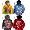 Big size little pony Sweater Kids Boys Girls Jacket Children's Avengers Coats,Boy's Lron man Hoodies,Children Clothing Spiderman